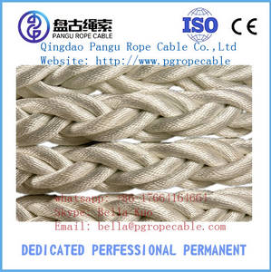 Wholesale synthetic rope: Nylon 8-strand Braided Mooring Ropes for Marine