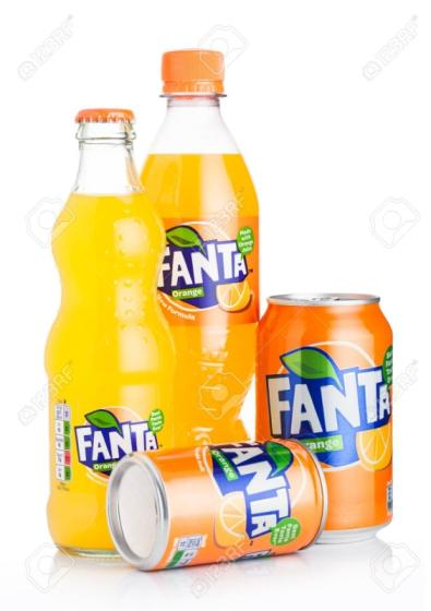 Sell Fanta Orange Soft Drink 330ml Can (Pack of 24)