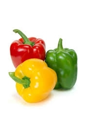 Sell Fresh Green, Red, Yellow, Orange Bell  Capsicum Pepper Now Available on 30%