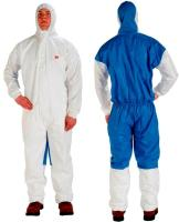 Thailand Manufactures Safety White Disposable Protective Coverall