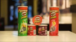 Wholesale potato chips packing: Spicy Pringles