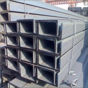 Wholesale channel steel: High Quality High Quality Q235 Structure Galvanized U Steel Channel Beam Price  Price