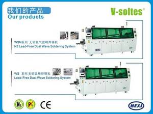 Wholesale smt lead solder paste: Lead-free Wave Soldering Machine with Nitrogen System