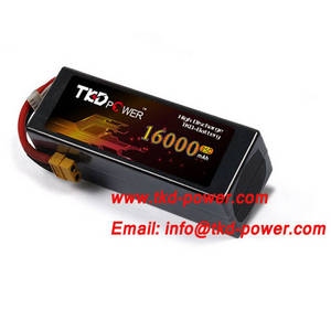 Wholesale battery powered uav: TKD Power 8000mAh  Lithium Polymer Battery 25C 22.2V 6S UAV Multirotors Battery