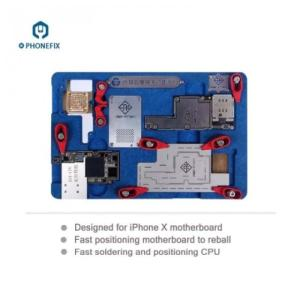 Wholesale bga chip repair: Multi-Function Phone X BGA Reballing Motherboard Fix Cooling Platform