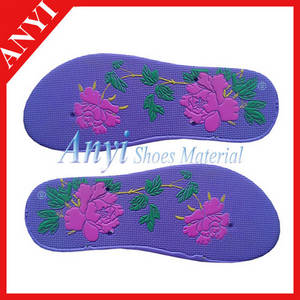 Wholesale eva shoes: EVA Shoes Soles To Make Slippers