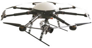Wholesale satellite set top box: PLT-800 Octocopter Unmanned Aircraft