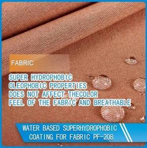 Wholesale super gun: Superhydrophobic Coating for Fabric