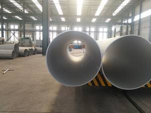 Wholesale internal pipe blasting: LNG Stainless Steel Oil Gas Large Diameter Pipe Tube