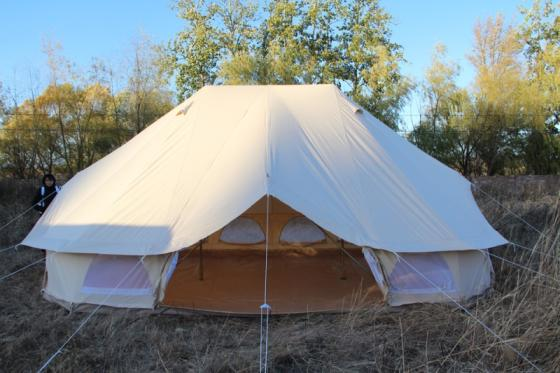Camping Bell Tent Luxury Family Tent