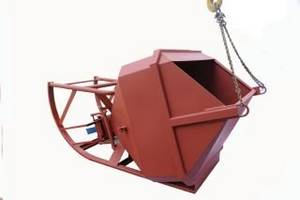 Wholesale Other Construction Tools: Center Discharge Recumbent Concrete Bucket