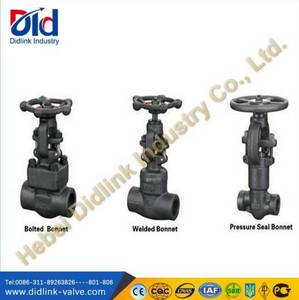 Wholesale api: API 602 Forged Steel A105 High Pressure Globe Valve Actuator, Globe Valve Dimensions