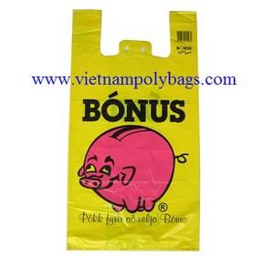 Wholesale plastic bag handle: Vietnam Packaging Cheap Vest Handle Carry Plastic Bags