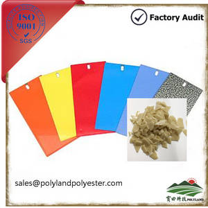 Wholesale powder coating system: Thermoset Polyester Resin for Hybrid System Powder Coating