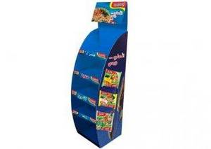 Wholesale Folk Crafts: Corrugated Cardboard Display With Cambered Stand ENTD042 For Candy Shows