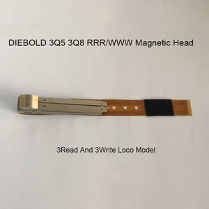 Wholesale head model: DIEBOLD 3Q5/3Q8 ATM Magnetic Head(RRR/WWW)3Read and 3Write Loco Model