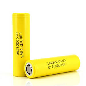 Wholesale he: LG HE4 18650 2500mAh 3.7V Lithium-ion Rechargeable IMR 18650 High Drain Battery for Vape Battery