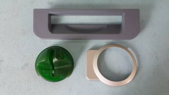 Sell NCR Round ATM Bezel Overlay Fits over Anti skimming/skimmer ATM parts
