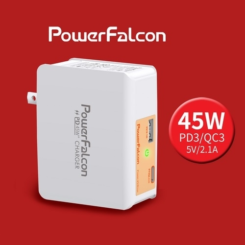 Sell 45W PD dual ports(USBC USBA) charger