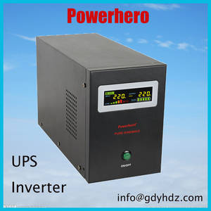 Wholesale home inverter: Pure Sine Wave Home Inverter UPS Power Inverter with Charger FACTORY SUUPLIER