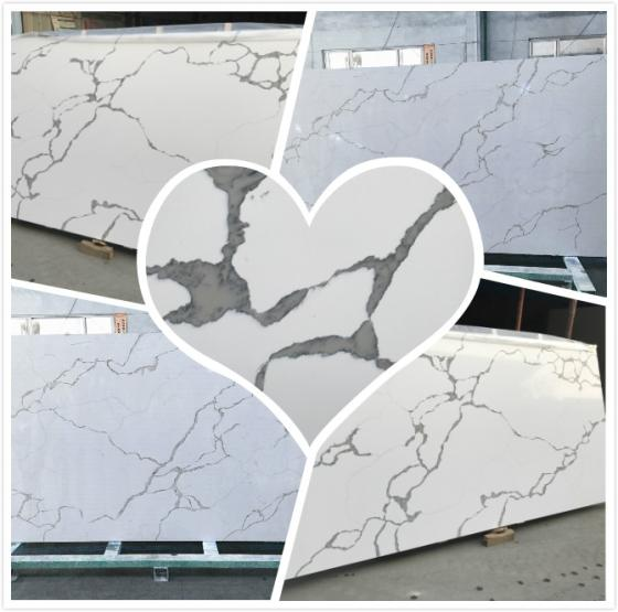 Super White Quartz Stone Slab
