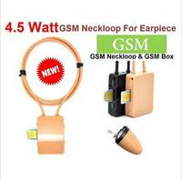 The New Best High Quality 4.5W Spy GSM Box Neckloop Mini MicroSpy Blutooth Earpiece Made in China