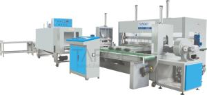 Wholesale packing machine: Automactic Fabric Roll Packing Machine Target Textile Machinery Roll Wrapping Machine