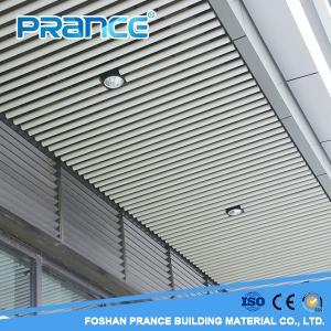 Wholesale tube ceiling: Office Building Corridor Fashion Round Tube Ceiling Design
