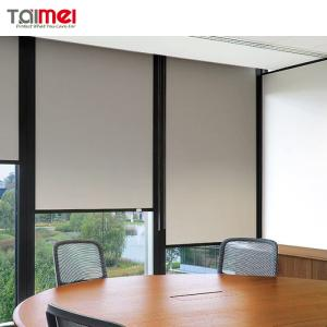 Wholesale coated fabric: Fiberglass PVC Coated Sunscreen Roller Blind Fabric Series