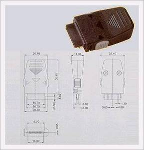Wholesale plug connector: I/O Plug Connector 24P