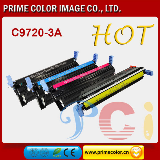 Color Toner Cartridges for HP C9720A 1A 2A 3A EP-85 Reman with Chip