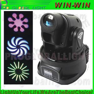 Wholesale led spot light: LED Mini Moving Head Light(Spot)