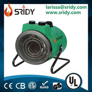 Wholesale electrical element: Sridy 2kw 3kw Stainless Steel Heating Element Electrical Fan Heater  CE Standard IPX4
