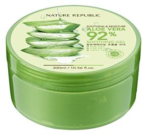 Wholesale hair essence: [NATURE REPUBLIC] - Soothing & Moisture Aloe Vera 92% Soothing Gel PREMIUM KOREA ALOE GEL