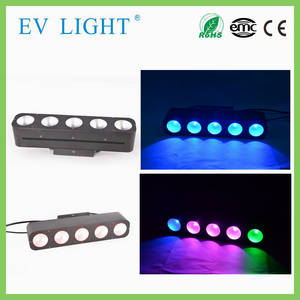 Wholesale blinders: RGB Three in One COB 5pcs*15w LED Audience Blinder Light Matrix Light