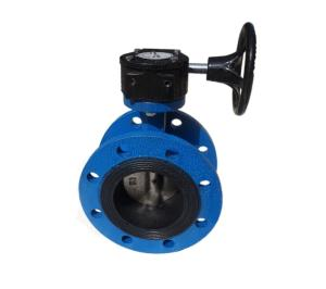 Wholesale Valves: Wholesale 4 Inch DN2501 Concentric DI Flanged Butterfly Valve