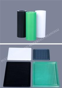 Wholesale plastic coated: Coated Conductive PP & HIPS Plastic Film for Electronic Packaging for Thermoforming