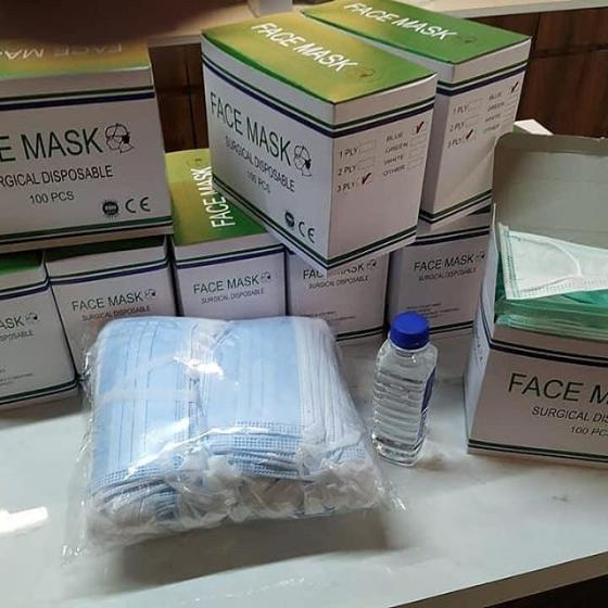 Sell Security Anti-Virus Medical 3 ply face mask