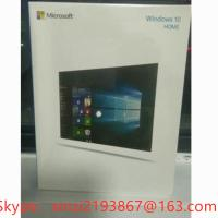 Microsoft Windows 10/Win 10 Home Edition OEM 32/64 DVD English Packaging Online Activation