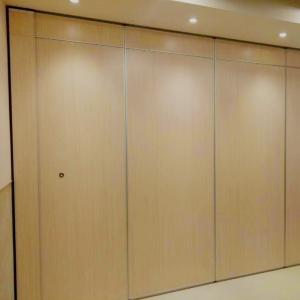 Wholesale vertical sealer: Soundproof Decorative Wooden Folding Partition Walls for School / Restaurant