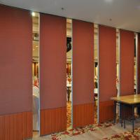 Banquet Hall Wooden Flexible Walls Full Height Office Acoustic Folding Sliding Sri Lanka Hotel Walls
