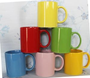 Wholesale ceramics: Colorful Mugs Ceramic Promotion Mugs
