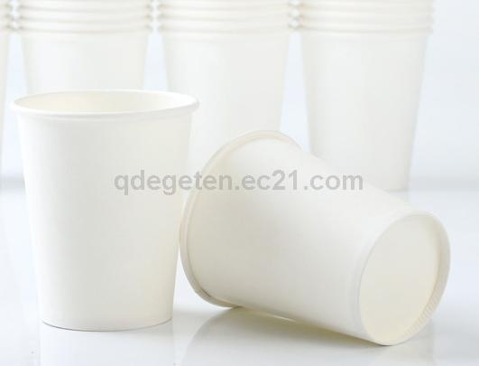 Disposable Paper Cup 8 Oz  with Logo