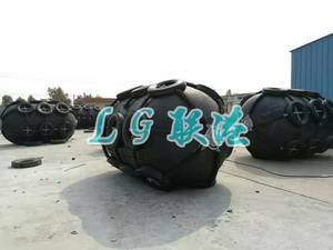 Wholesale marine fender: Pneumatic Rubber Fender with Chain and Tyre Net