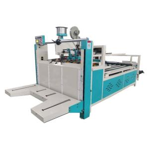 Wholesale firm structure: Semi Auto Corrugated Carton Folding Gluing Machine
