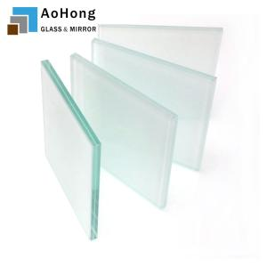 Wholesale bulletproof glass: 55.2 5mm 0.38 0.76 5mm 10.35 Mm Clear Laminated Glass Glass Panels for Buildings
