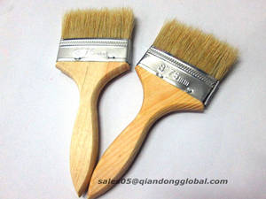Wholesale paint brushes: Pure Bristle Hair Paint Brush