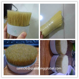 Wholesale Agricultural Product Stock: Comb by Handwork Hog Bristle Hair for Making Brush