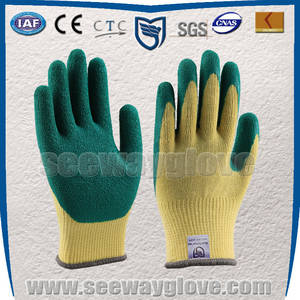 Wholesale latex coated gloves: Latex Coated Cotton Glove for General Work