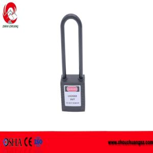 Wholesale safety security: High Security 76mm Nylon Shackle Safety Warning Lockout Padlock